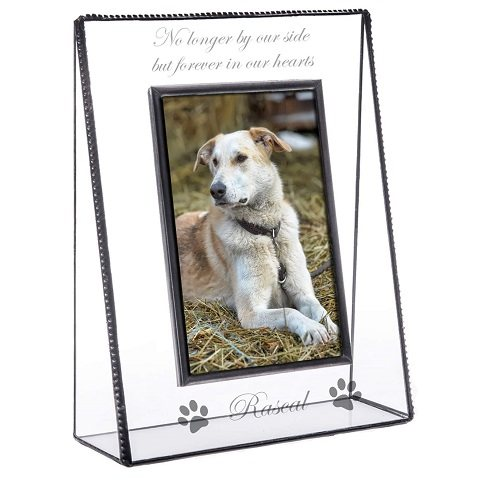 J Devlin Glass Art Personalized Picture Frame