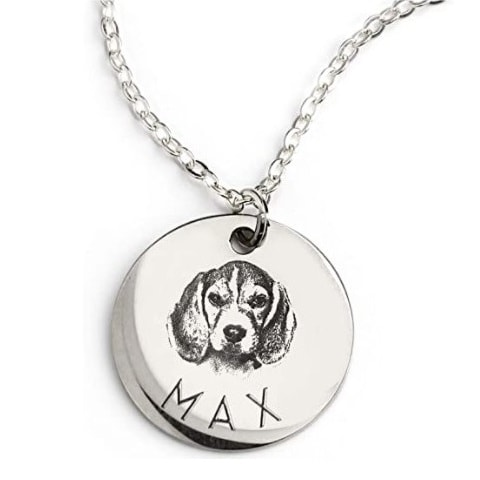 MignonandMignon Personalized Pet Necklace