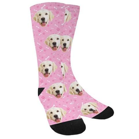 MyPupSocks Custom Personalized Pet Face Socks