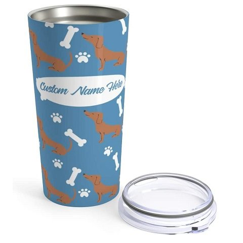 Personalized Corner Stainless Steel Insulated Tumbler