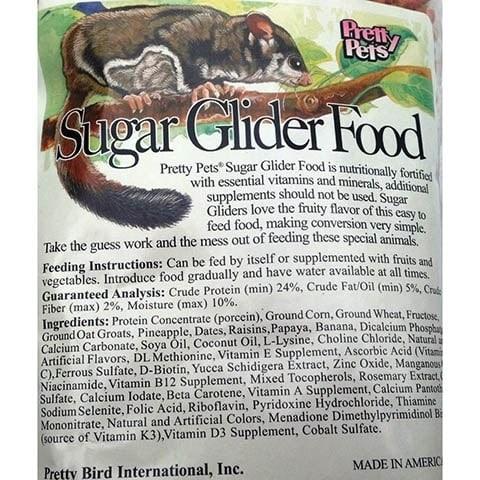 Pretty Bird International Sugar Glider Food