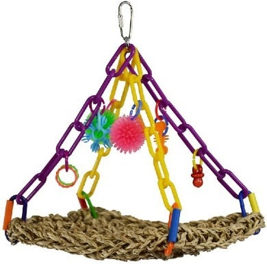 Super Bird Creations Flying Trapeze Bird Toy
