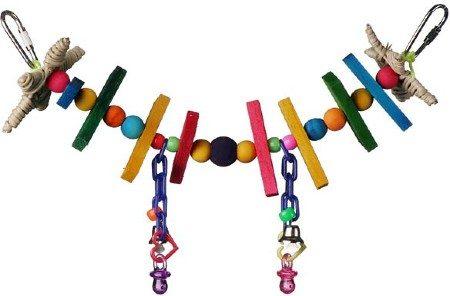 Super Bird Creations Rainbow Bridge Bird Toy