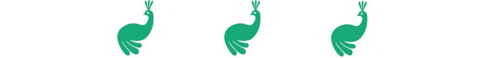 peacock divider