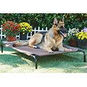 Frisco Steel-Framed Elevated Dog Bed