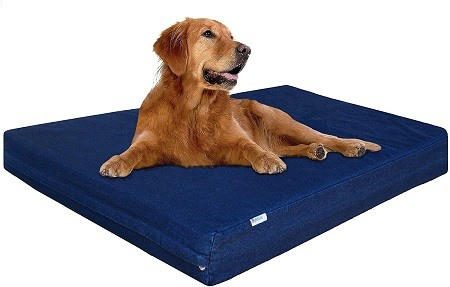 6Dogbed4less XL Orthopedic Waterproof Memory Foam