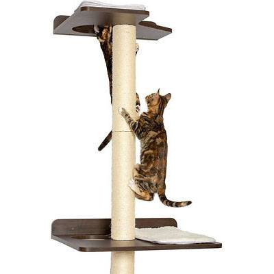 PetFusion 76.8-in Wall Mounted Cat Tree