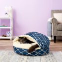 Snoozer Pet Products Cozy Cave Covered Cat Bed