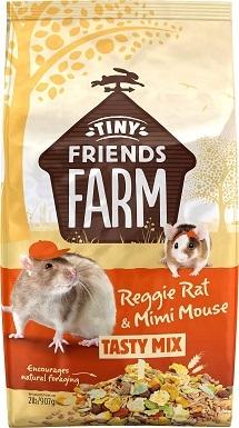 10Tiny Friends Farm Reggie Rat & Mimi Mouse Food