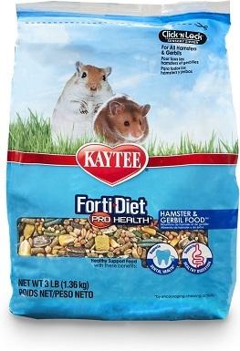 2Kaytee Forti-Diet Pro Health Gerbil & Hamster Food