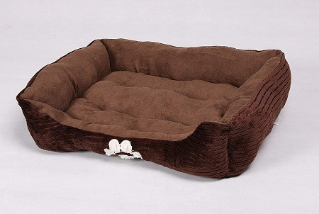 2Long Rich Reversible Rectangle Pet Bed Dog Bed