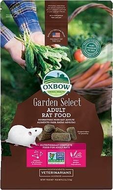 3Oxbow Garden Select Adult Rat Food