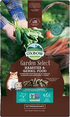 3Oxbow Garden Select Gerbil & Hamster Food