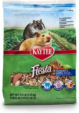 4Kaytee Fiesta Gourmet Variety Diet Gerbil & Hamster Food