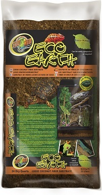 4Zoo Med Eco Earth Loose Coconut Fiber Reptile Substrate