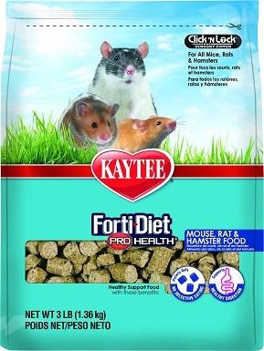 5Kaytee Forti-Diet Pro Health Mouse, Rat & Hamster Food