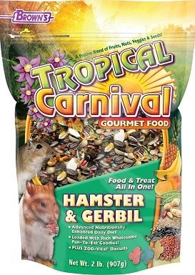 6Brown's Tropical Carnival Gerbil & Hamster Food