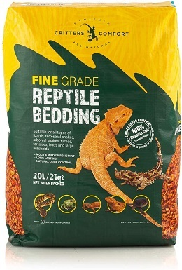 6Critters Comfort Coconut Reptile Bedding Organic Substrate