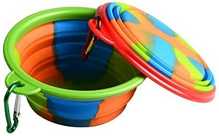 7Soopus-X Collapsible Dog Bowl