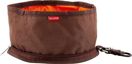 8Alfie Pet Collapsible Fabric Travel Dog Bowl