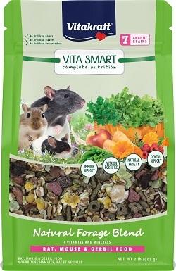 8Vitakraft Complete Nutrition Natural Foraging Blend Gerbil, Mouse & Rat Food