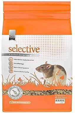 9Supreme Petfoods Science Selective Rat Food