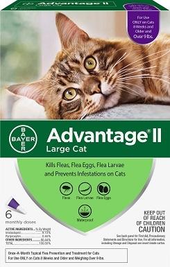 Advantage II Flea Spot Treatment cat