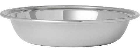 Frisco Stainless Steel Saucer Cat Bowl