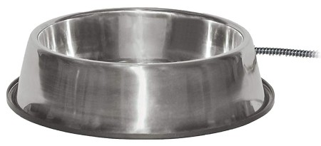 K&H Pet Products Thermal-Bowl Stainless