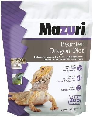 Mazuri Bearded Dragon Diet Food