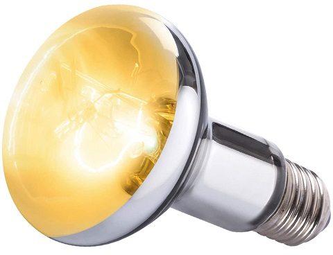 WACOOL UVA UVB Sunlamp Reptile Heat Lamp 100W