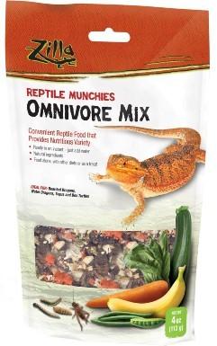 Zilla Reptile Munchies Omnivore Mix