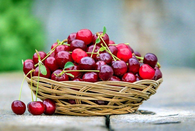 basket of cherries_Pixabay