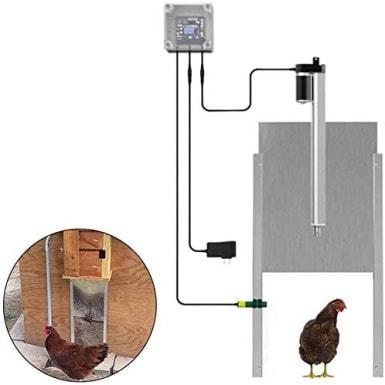 AOUSTHOP Automatic Chicken Coop Door_Amazon