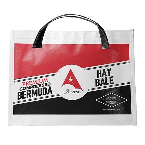 Ametza Premium Compressed Bermuda Hay Bale Horse Forage