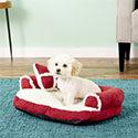 Aspen Pet Bolster Washable Dog Bed