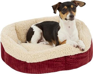 Aspen Pet Self-Warming Bolster Dog Bed