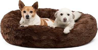 Best Friends by Sheri Calming Bolster Dog Bed