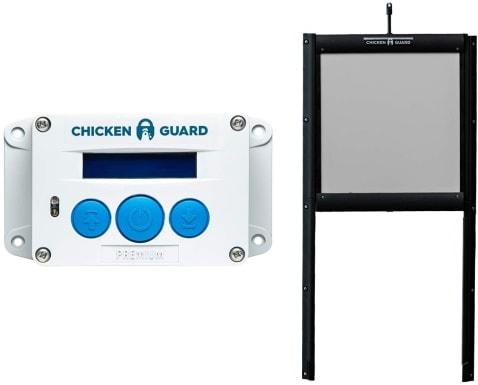 ChickenGuard Waterproof Automatic Chicken Coop Door_Amazon