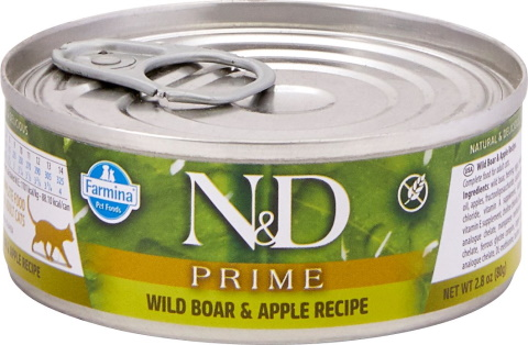 Farmina Natural Boar & Apple Canned Cat Food_Chewy