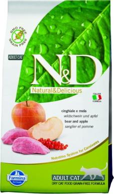Farmina Natural Wild Boar Formula Dry Cat Food_Chewy