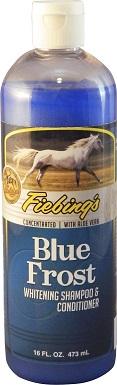 Fiebing's Blue Frost Whitening Horse Shampoo, 16-oz bottle