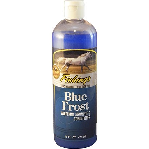 Fiebing's Blue Frost Whitening Horse Shampoo
