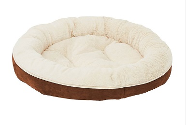 Frisco Round Bolster Cat Bed