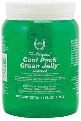 Horse Health Cool Pack Green Jelly