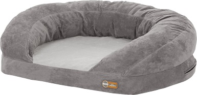 K&H Pet Products Orthopedic Bolster Cat Bed