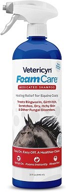 Vetericyn FoamCare Medicated Horse Shampoo