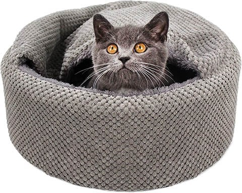 Winsterch Washable Warming Cat Bed
