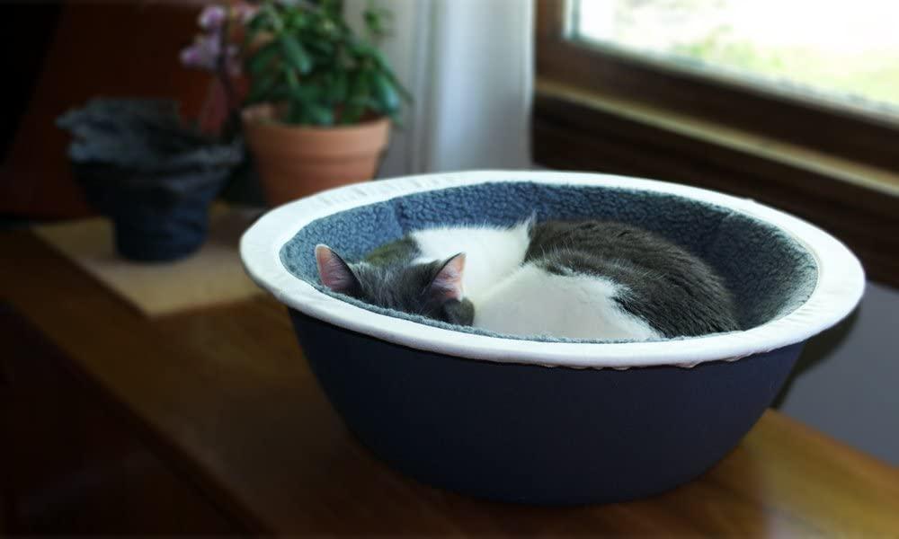 cat in Hepper Nest Cat Bed