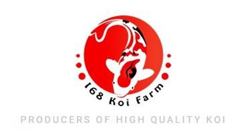 168 Koi Farm logo